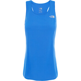 The North Face 24/7 Hardloopshirt zonder mouwen Dames blauw